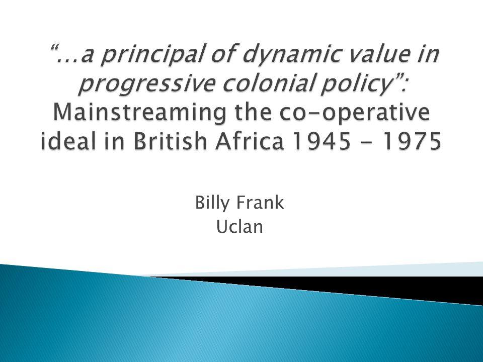 Billy Frank Uclan