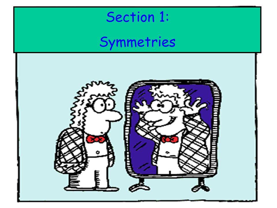: Section 1: Symmetries