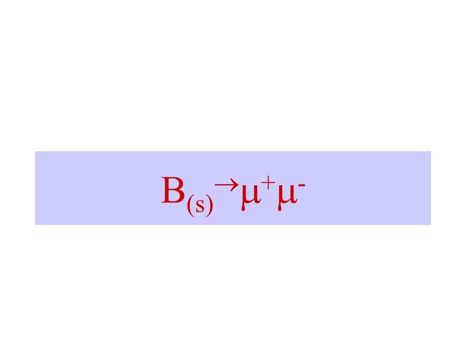 B (s)   +  -