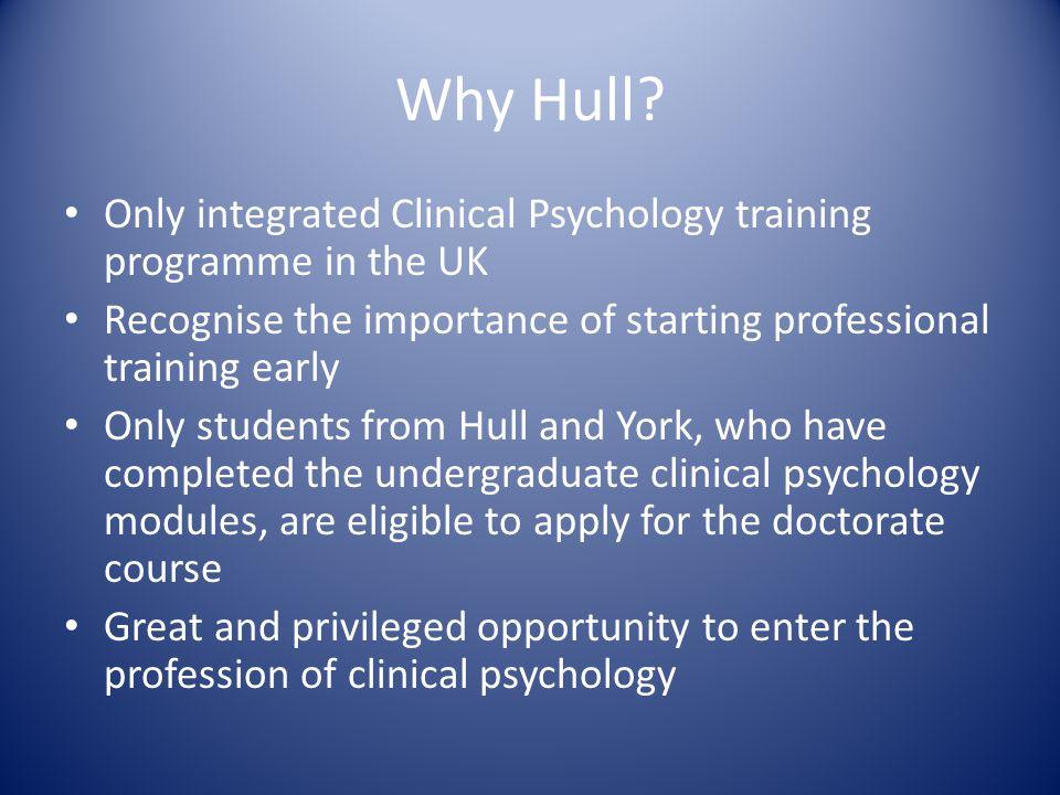 Why Hull.
