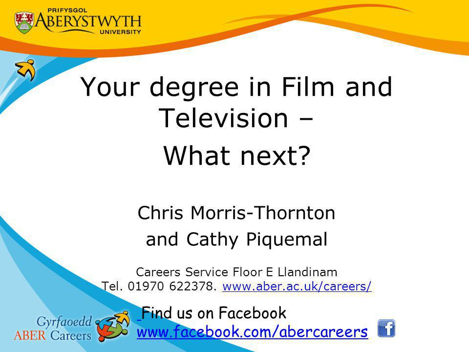 Your degree in Film and Television – What next.
