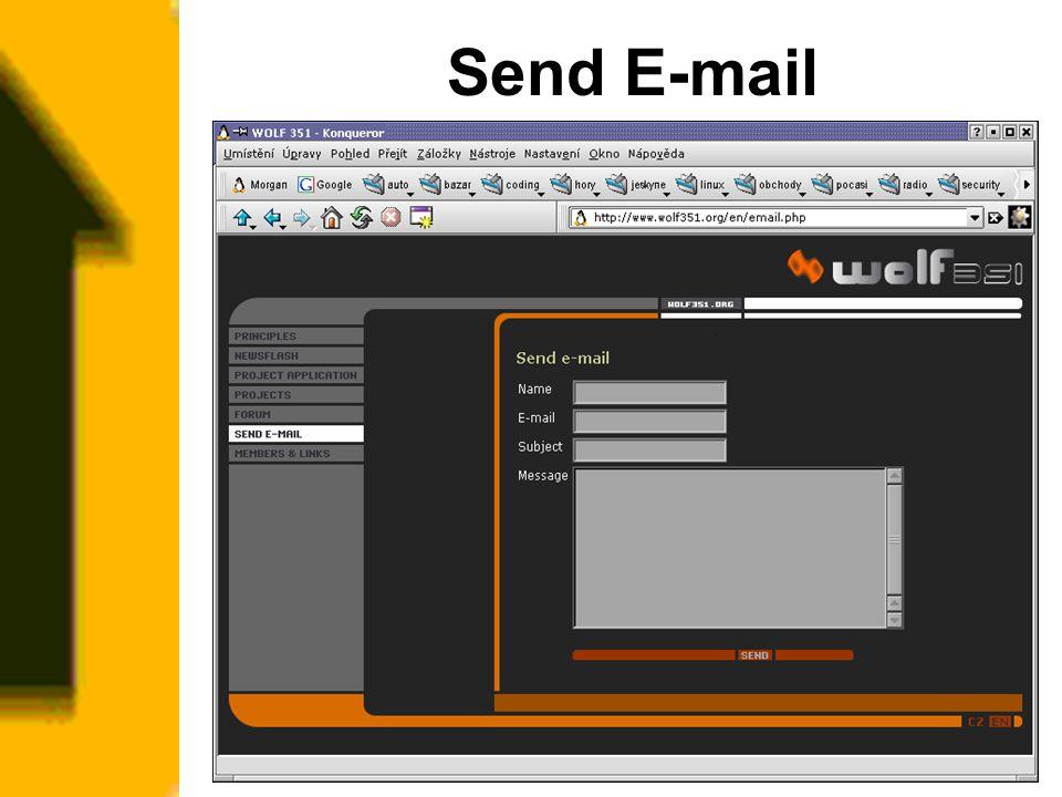 Send E-mail