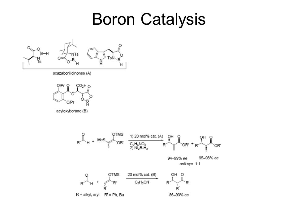 Boron Catalysis