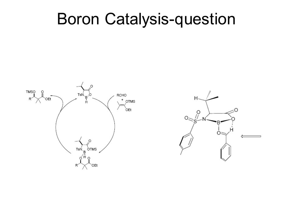 Boron Catalysis-question
