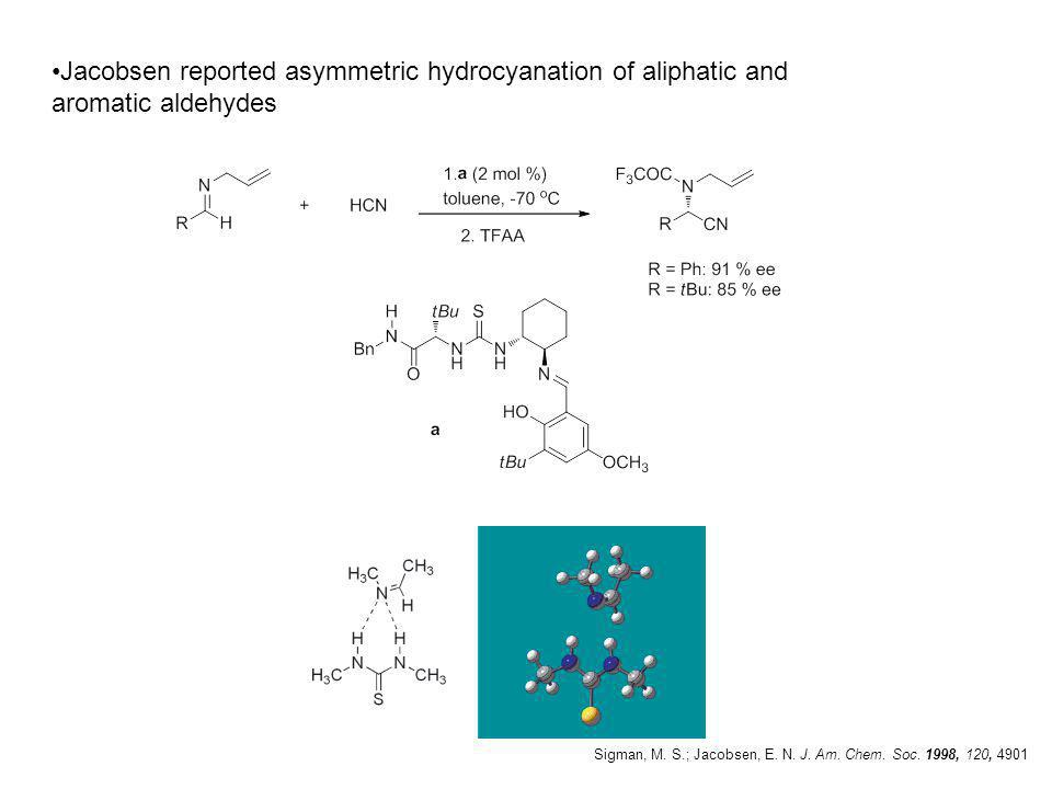 Bifunctional Thiourea derivatives Takemoto catalyst Aza-henry reaction-( addition of nitroalkanes to imines ) T.