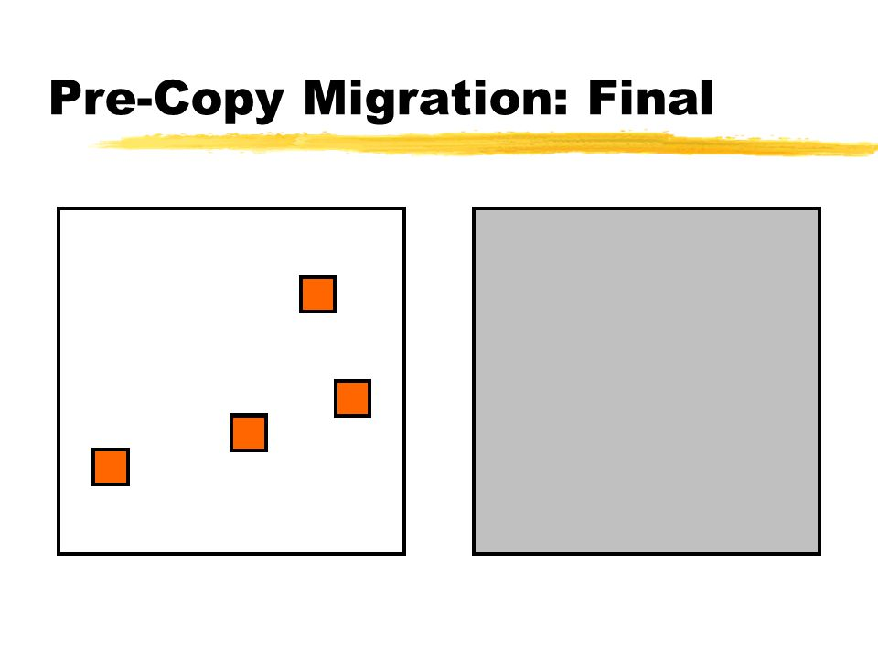 Pre-Copy Migration: Final