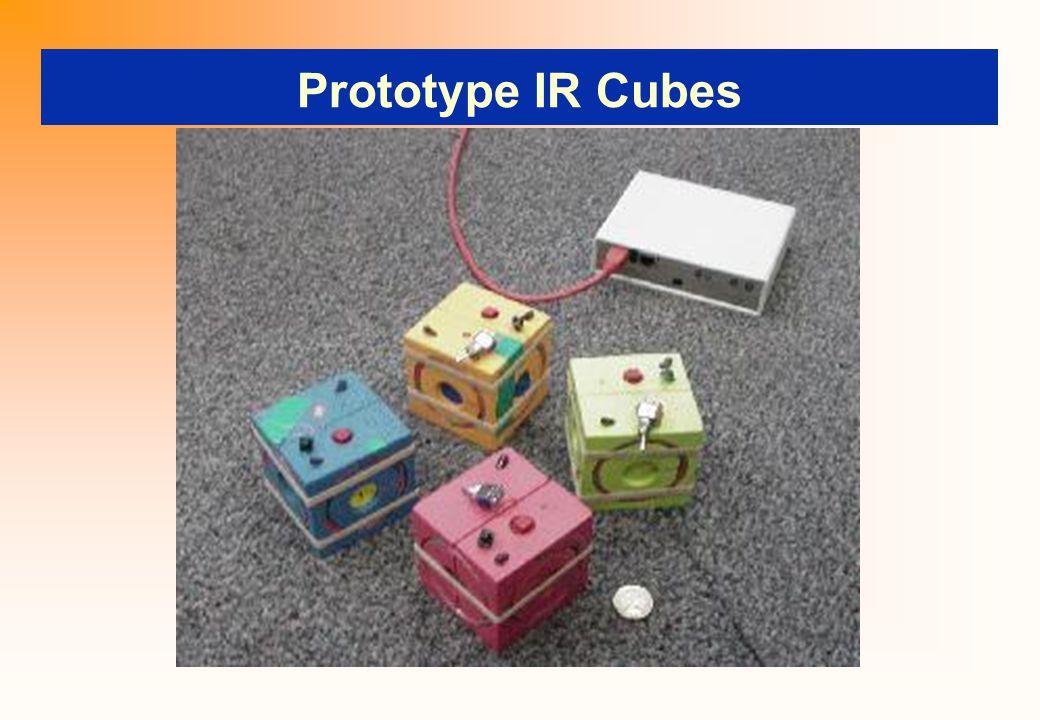 Prototype IR Cubes