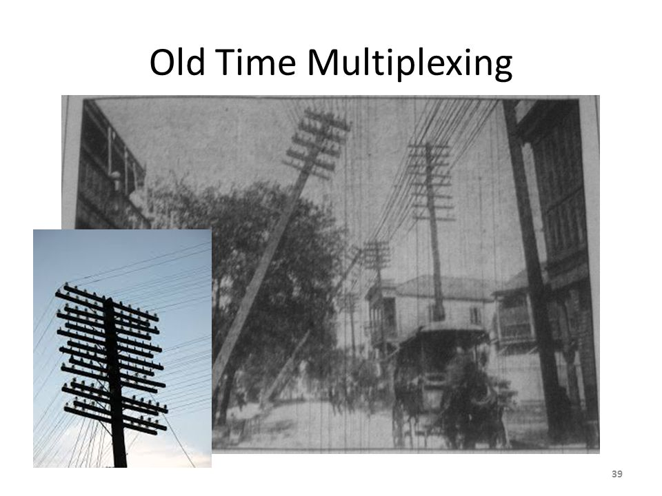Old Time Multiplexing 39