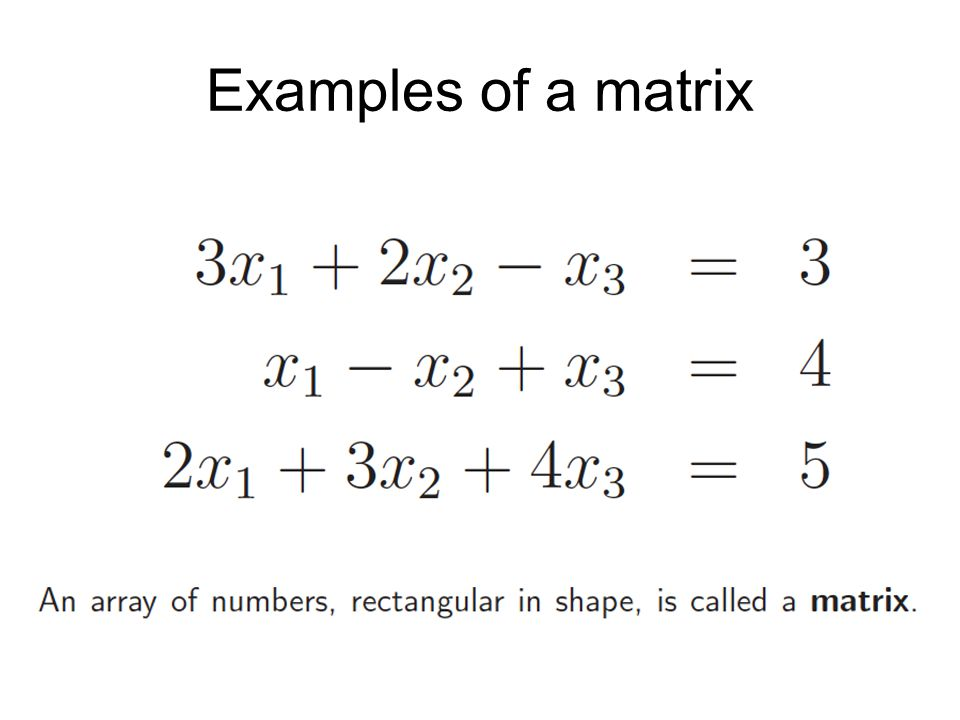 DETERMINANTS You will cover solution of simultaneous equations in semester 2.
