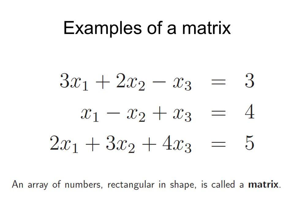 Properties of determinants 5.