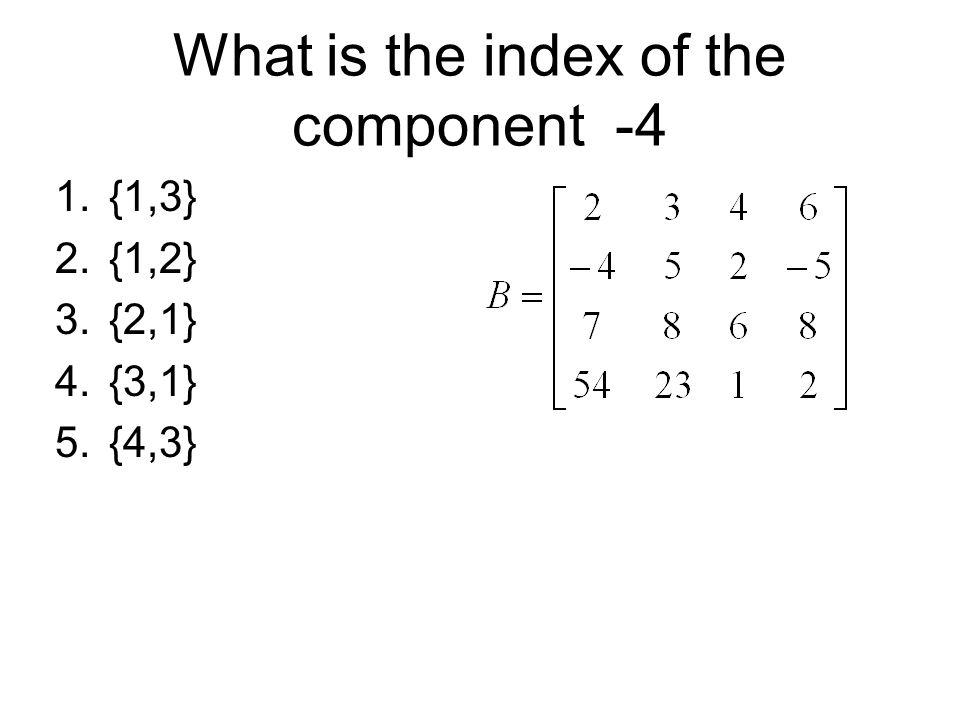 Examples of Matrix transpose Alternative insight.