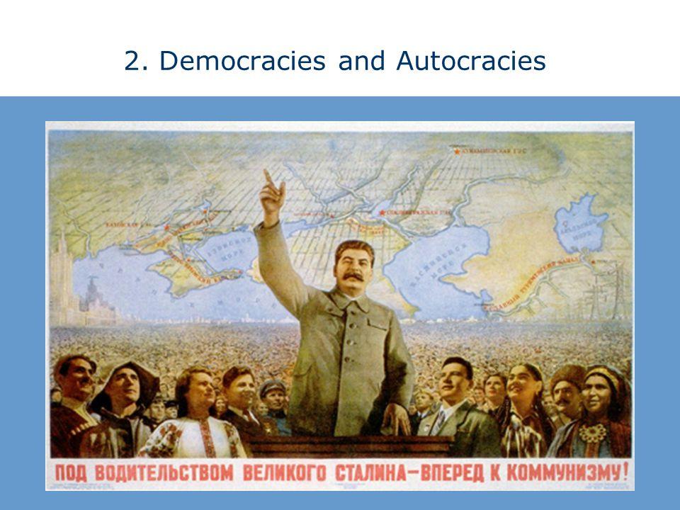2. Democracies and Autocracies