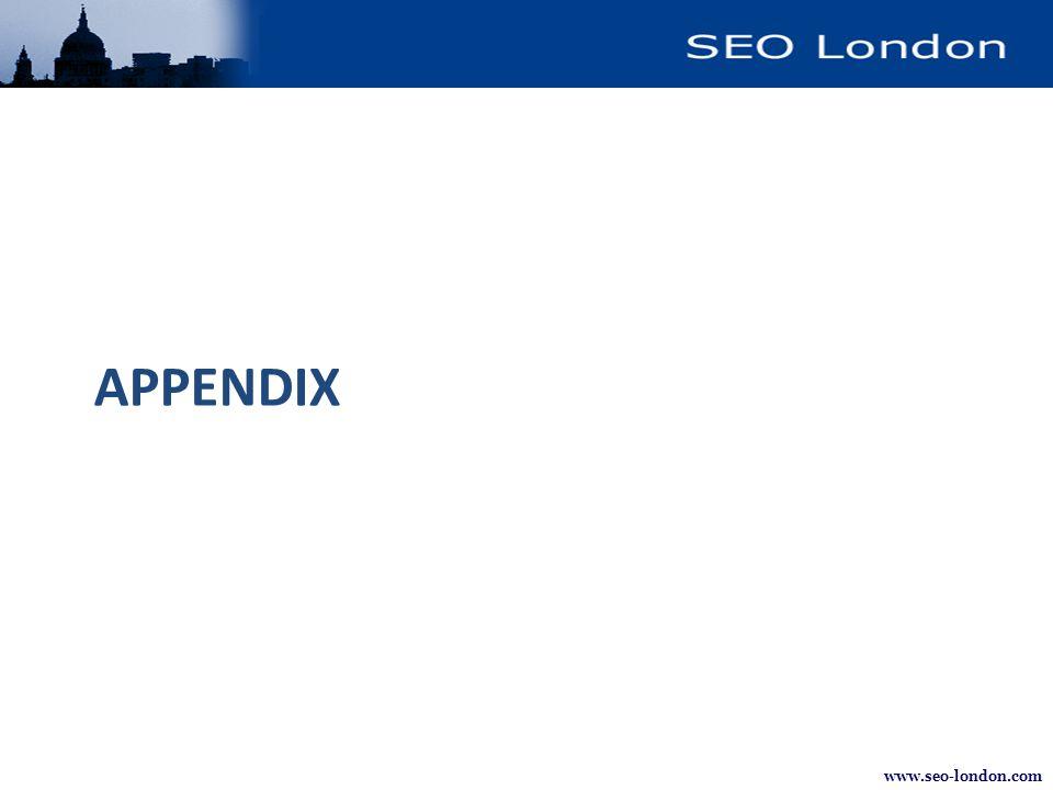 www.seo-london.com APPENDIX