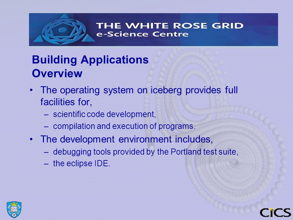 Compilers PGI, GNU and Intel C and Fortran Compilers are installed on iceberg.