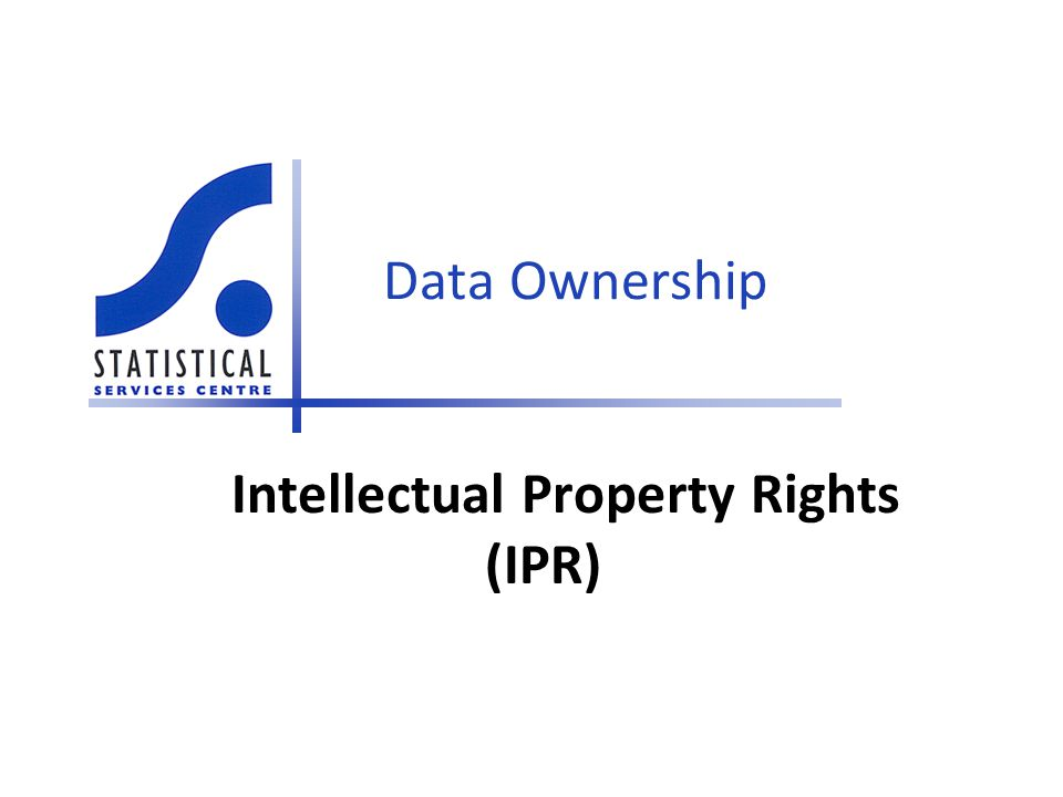 Data Ownership Intellectual Property Rights (IPR)