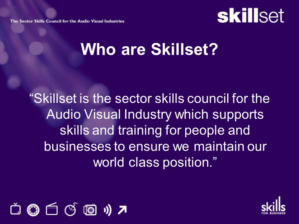 Who are Skillset.
