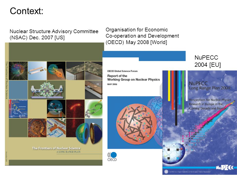 Nuclear Structure Advisory Committee (NSAC) Dec.