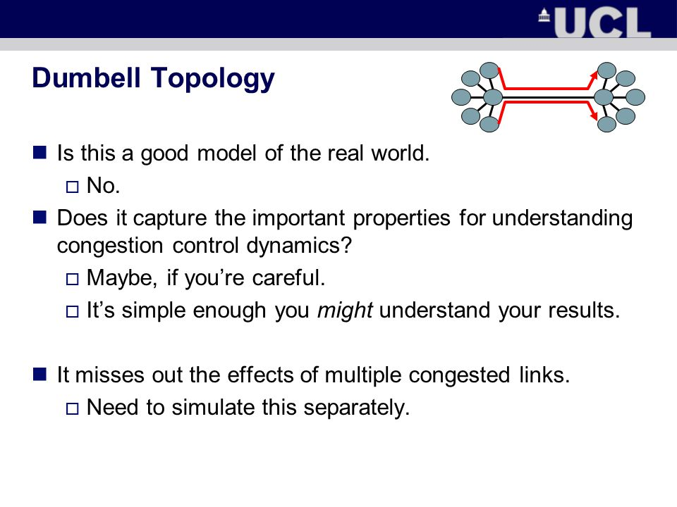Dumbell Topology Is this a good model of the real world.