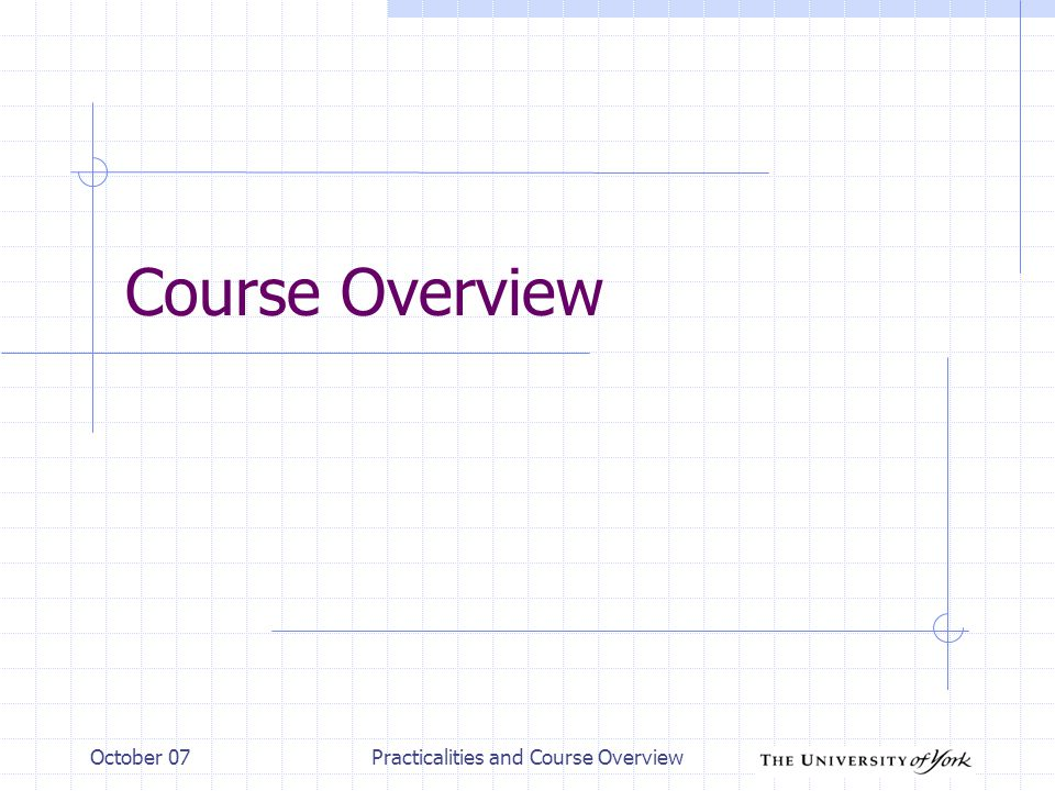 October 07Practicalities and Course Overview - 18 MATLAB and Empirical Methods … MATLAB is used by more than one module.