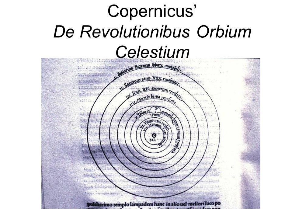 Copernicus' De Revolutionibus Orbium Celestium