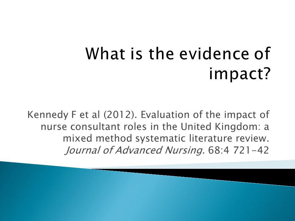 Kennedy F et al (2012).