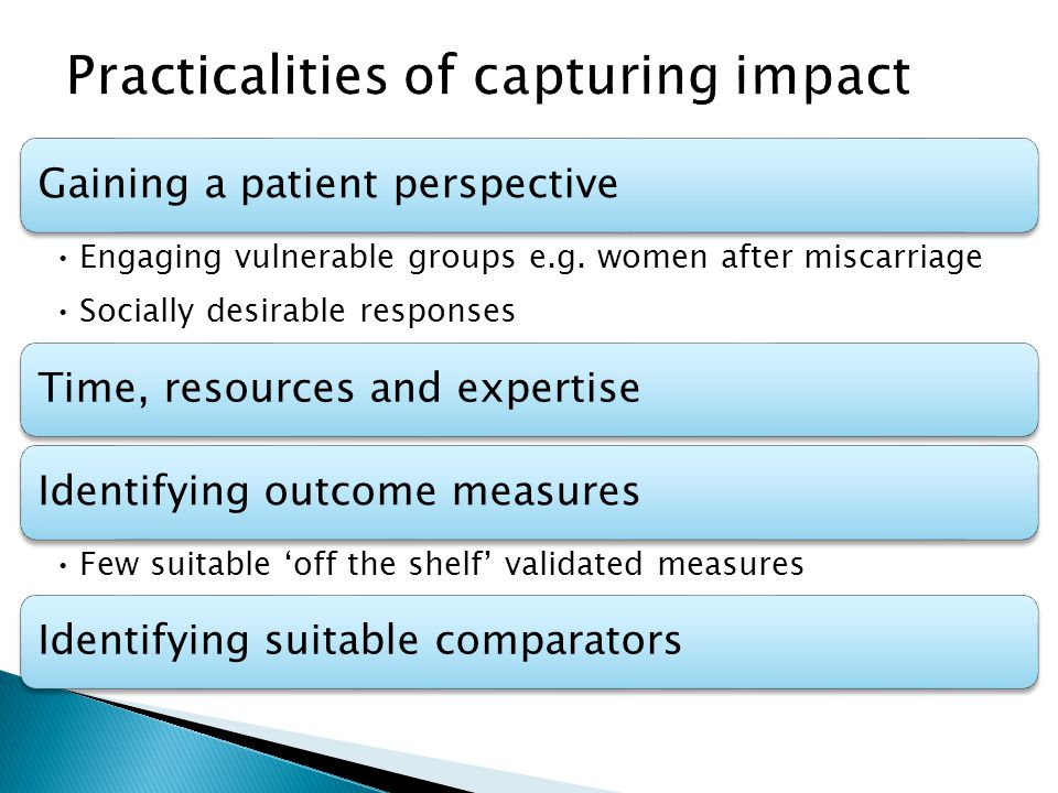 Gaining a patient perspective Engaging vulnerable groups e.g.
