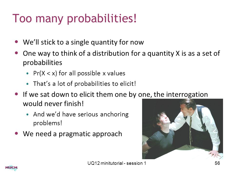 Too many probabilities.