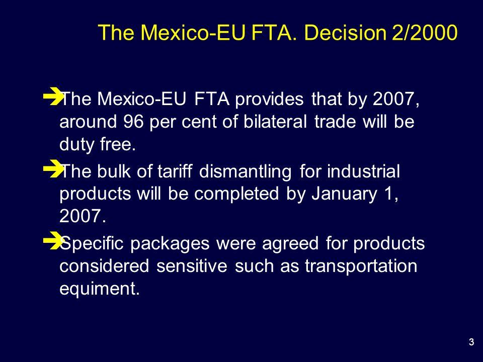 3 The Mexico-EU FTA.