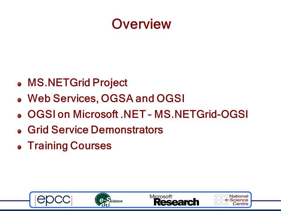 Training the UK e-Science Community