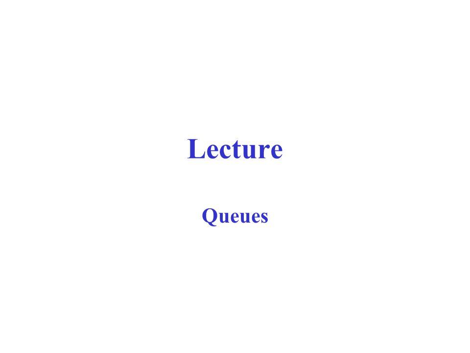 Lecture Queues