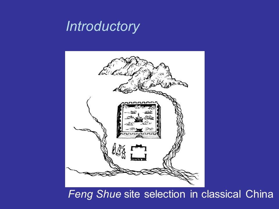 Introductory Feng Shue site selection in classical China