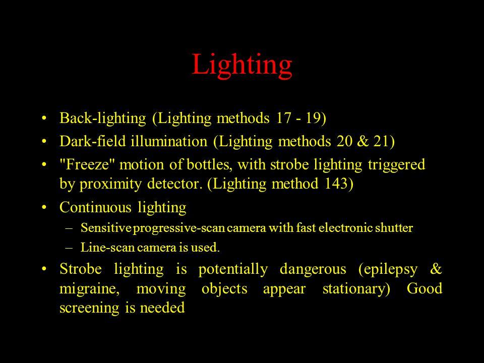 Sample Images - Glass Bottle Back-lighting Dark-field