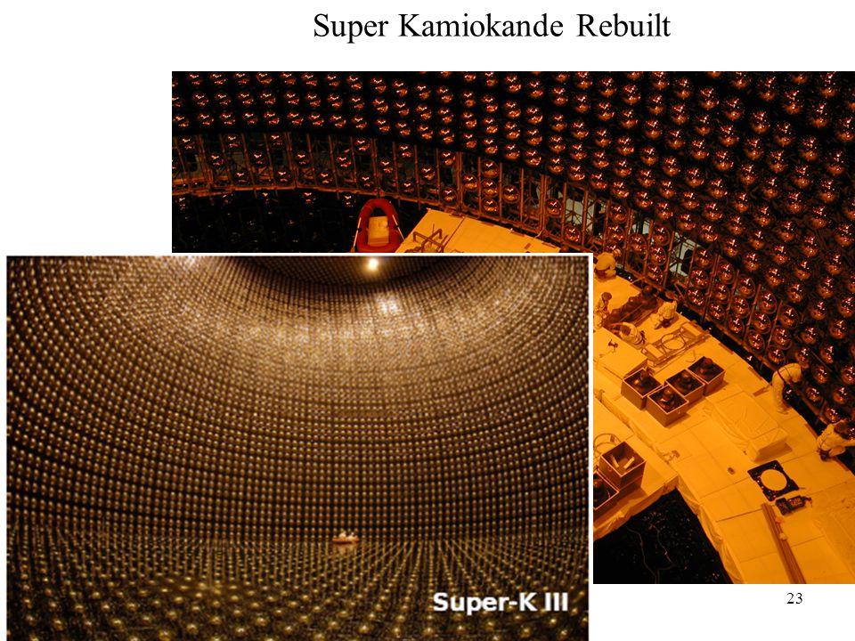 23 Super Kamiokande Rebuilt