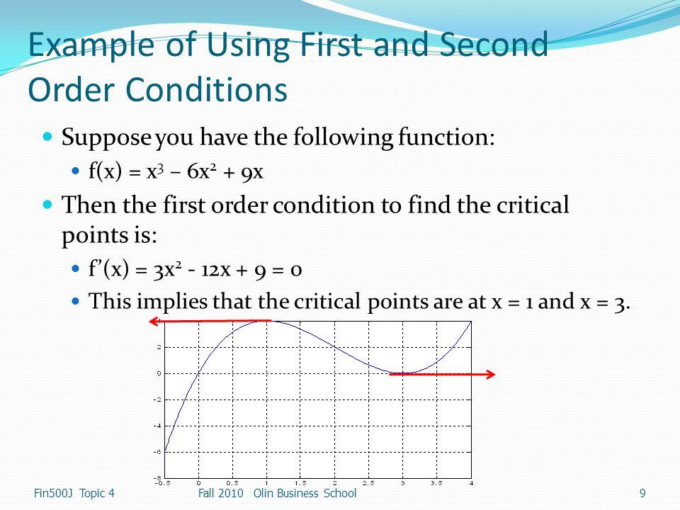 Utility Maximization Example Fin500J Topic 430 Fall 2010 Olin Business School