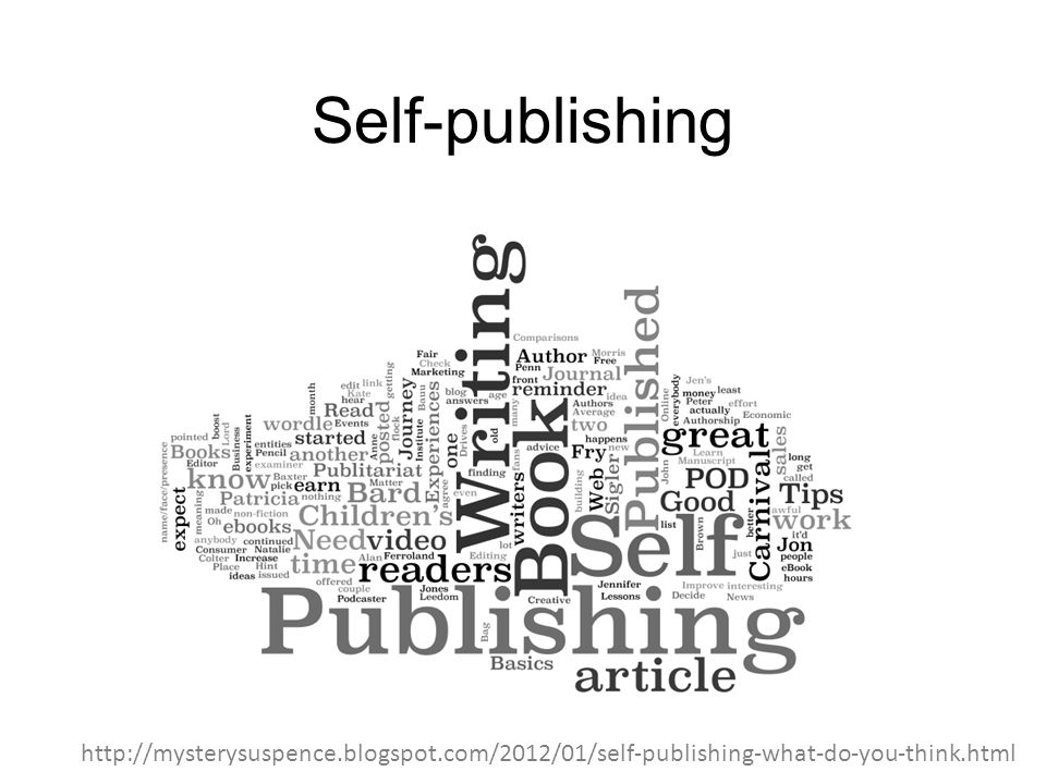Self-publishing http://mysterysuspence.blogspot.com/2012/01/self-publishing-what-do-you-think.html