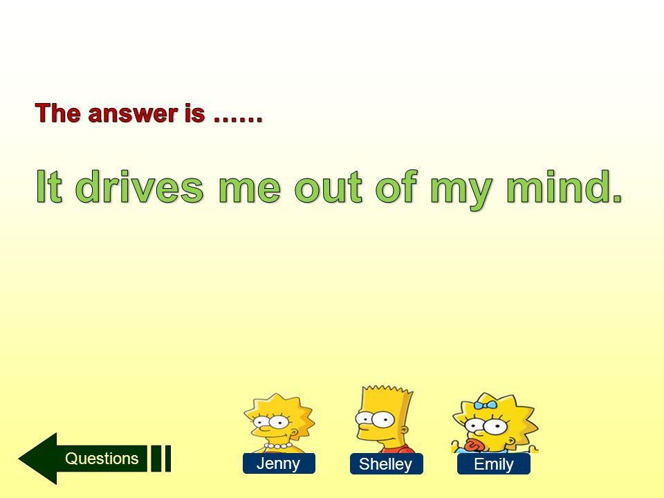 Questions Jenny ShelleyEmily