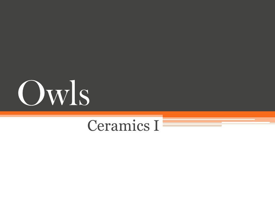 Owls Ceramics I