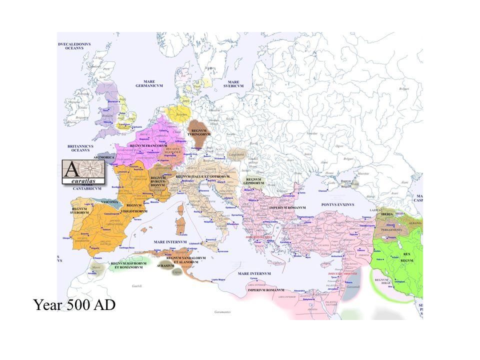 Year 500 AD