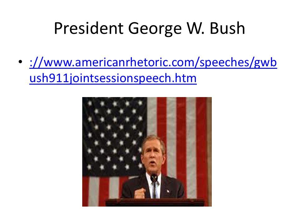 President George W.