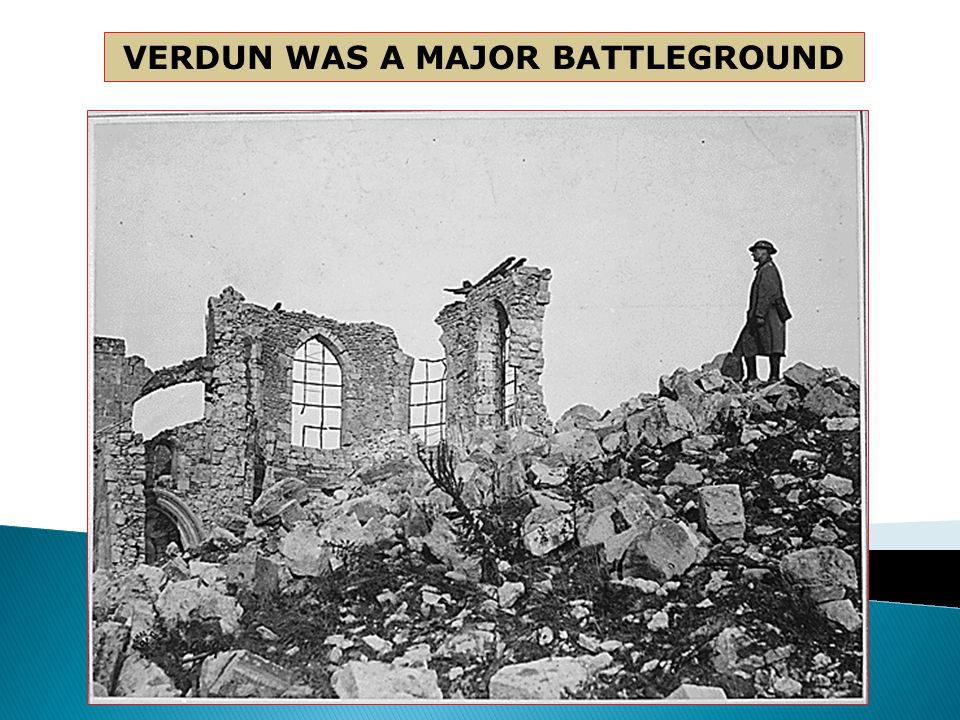  Verdun (680,000 killed in 6 Months)  Somne (1 million killed in 6 months)  Argonne Forest (decisive, but costly victory for the allies)