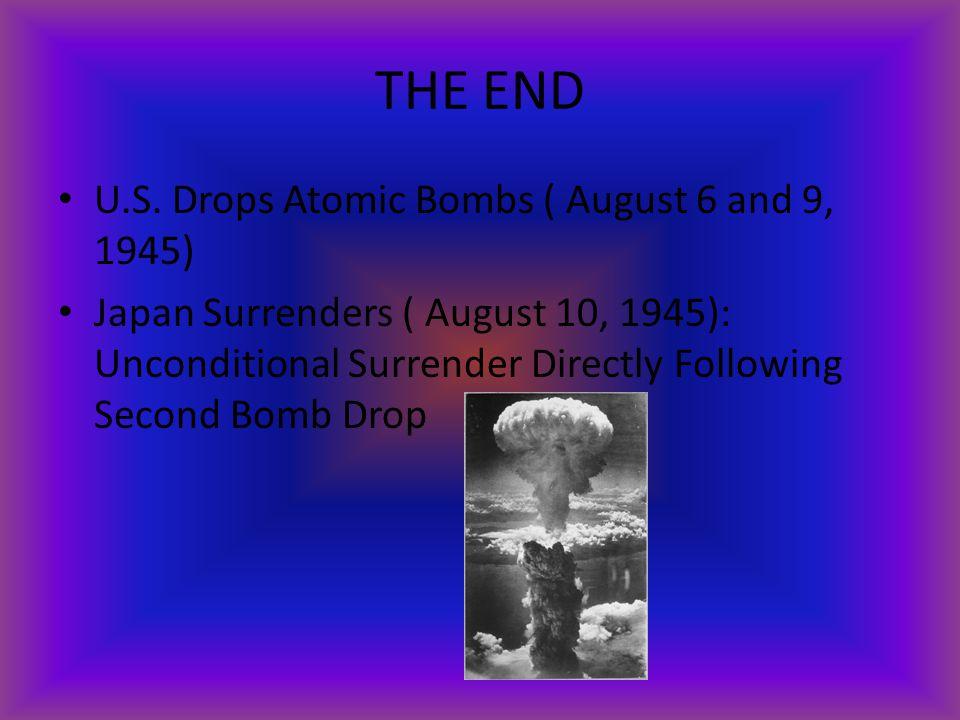 THE END U.S.