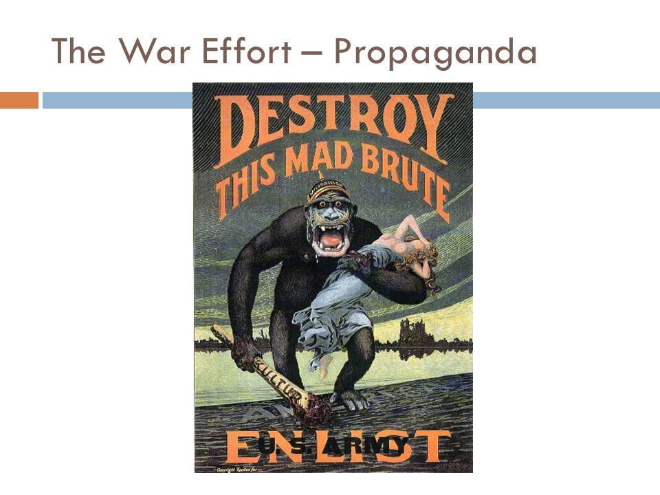 The War Effort – Propaganda