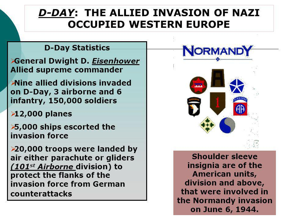 D-DAY INVASION BEACHES