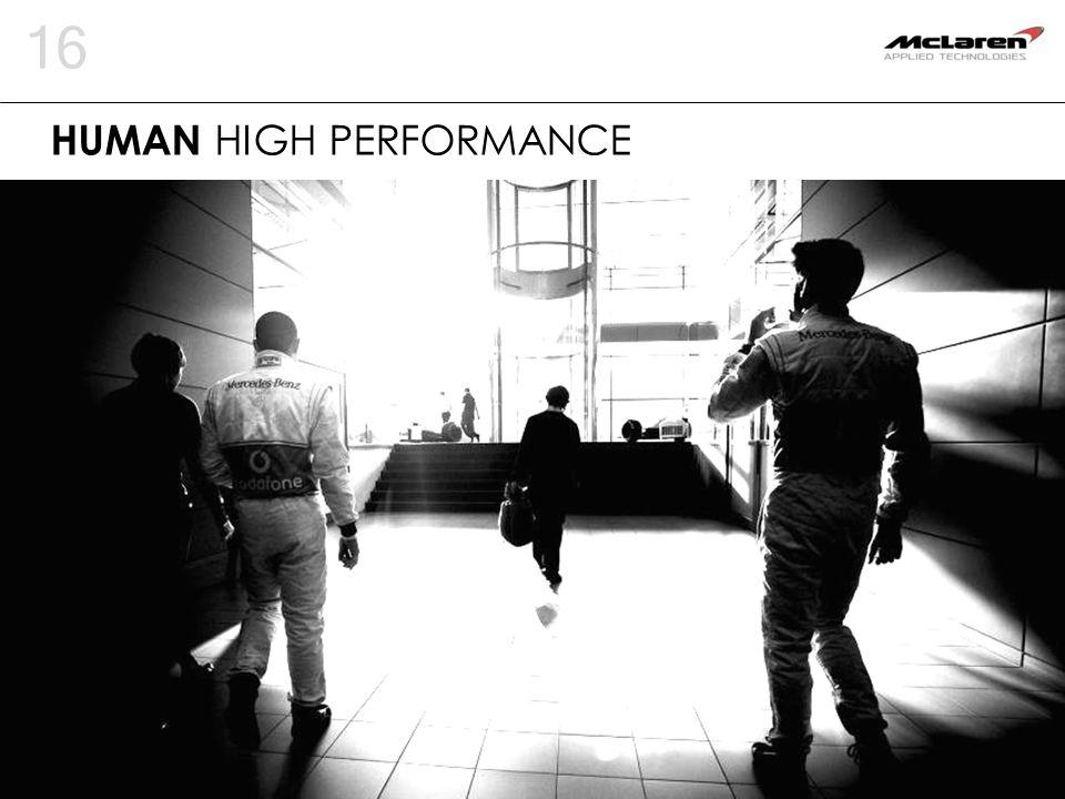 16 HUMAN HIGH PERFORMANCE