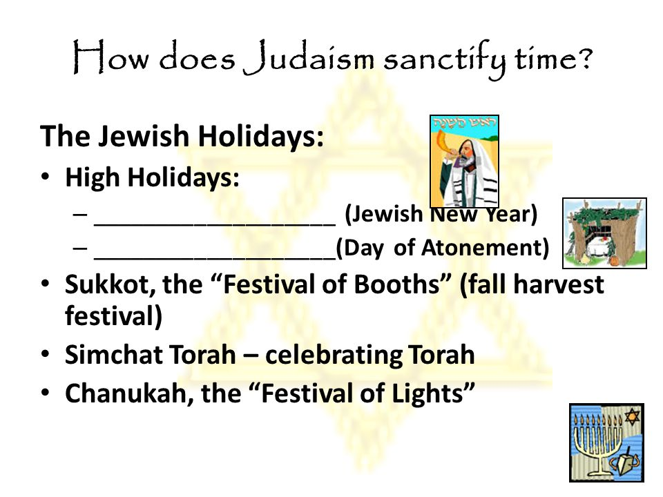 How does Judaism sanctify life.