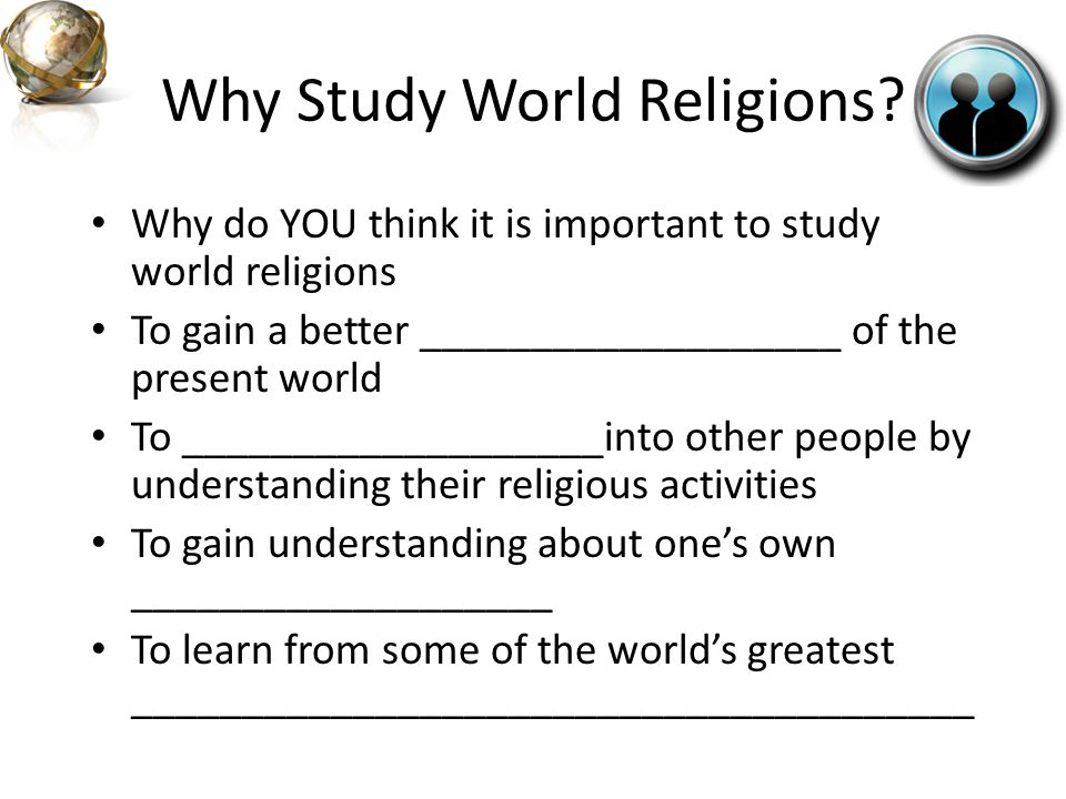World Religions Challenge Which side will win??