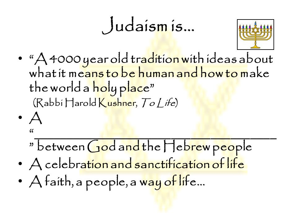 What Do You Know?? What do we know about Judaism??