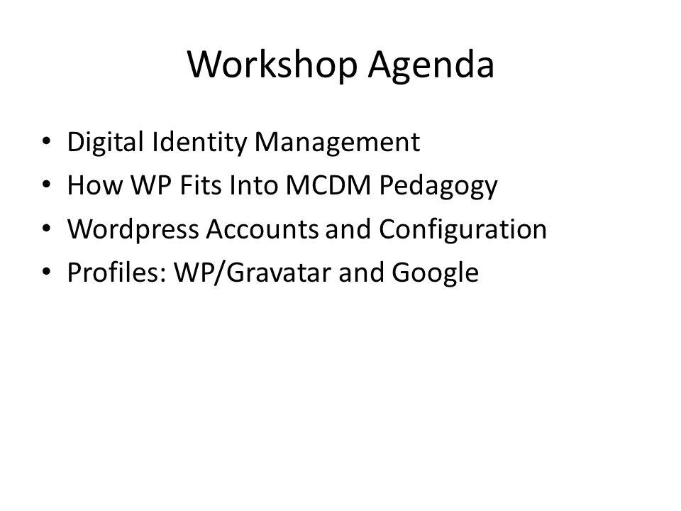 Digital Identity Management Why.
