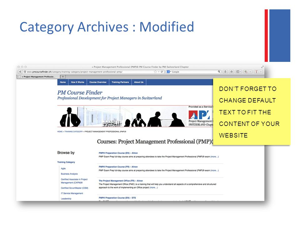 Category Archives : Modified DON'T FORGET TO CHANGE DEFAULT TEXT TO FIT THE CONTENT OF YOUR WEBSITE