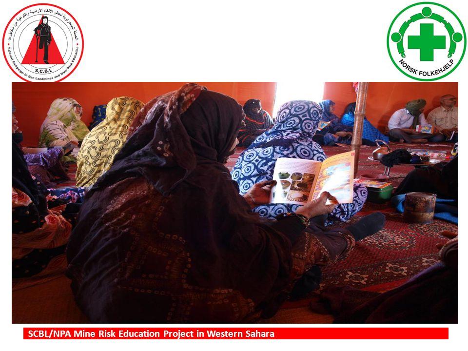SCBL/NPA Mine Risk Education Project in Western Sahara